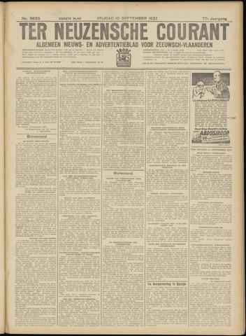 Ter Neuzensche Courant. Algemeen Nieuws- en Advertentieblad voor Zeeuwsch-Vlaanderen / Neuzensche Courant ... (idem) / (Algemeen) nieuws en advertentieblad voor Zeeuwsch-Vlaanderen 1937-09-10