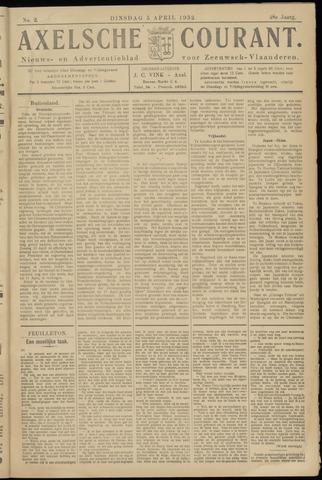 Axelsche Courant 1932-04-05