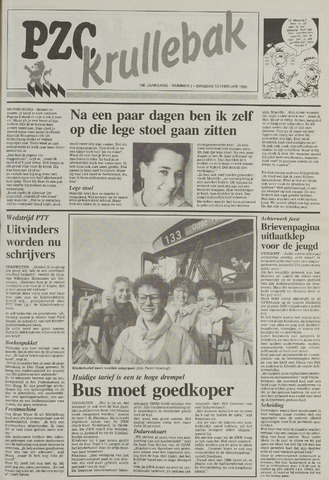 Provinciale Zeeuwse Courant katern Krullenbak (1981-1999) 1990-02-13