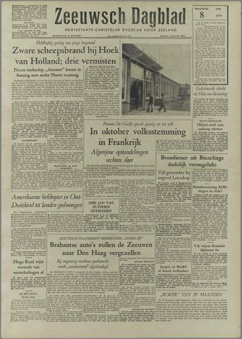 Zeeuwsch Dagblad 1958-06-08