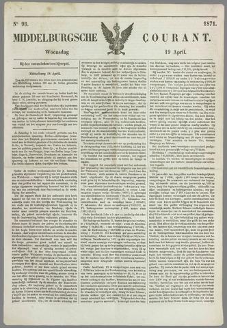 Middelburgsche Courant 1871-04-19
