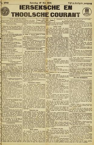 Ierseksche en Thoolsche Courant 1919-05-17