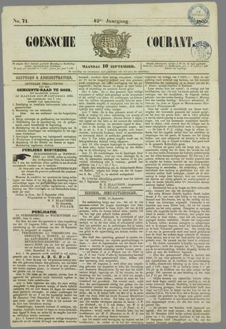 Goessche Courant 1855-09-10