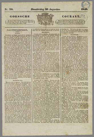 Goessche Courant 1849-08-30