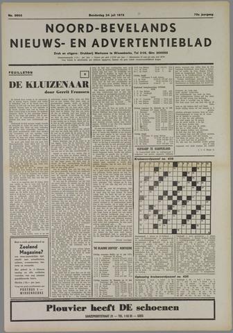 Noord-Bevelands Nieuws- en advertentieblad 1975-07-24