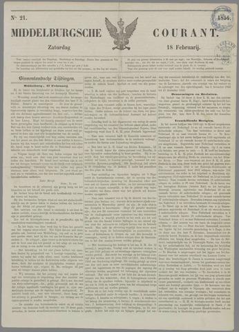 Middelburgsche Courant 1854-02-18
