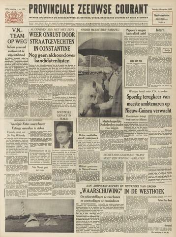 Provinciale Zeeuwse Courant 1962-08-18