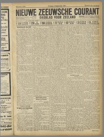 Nieuwe Zeeuwsche Courant 1921-09-02
