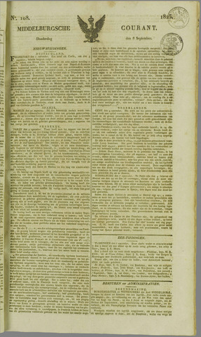 Middelburgsche Courant 1825-09-08