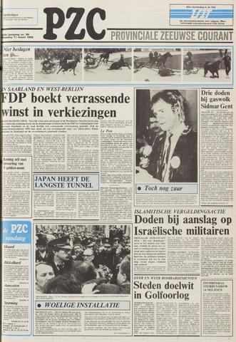Provinciale Zeeuwse Courant 1985-03-11