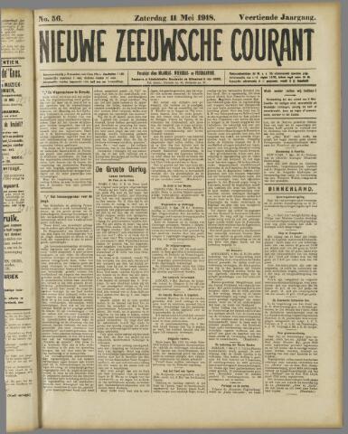 Nieuwe Zeeuwsche Courant 1918-05-11