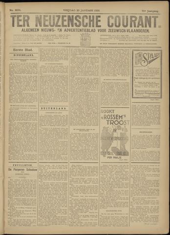 Ter Neuzensche Courant. Algemeen Nieuws- en Advertentieblad voor Zeeuwsch-Vlaanderen / Neuzensche Courant ... (idem) / (Algemeen) nieuws en advertentieblad voor Zeeuwsch-Vlaanderen 1931-01-23