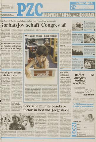 Provinciale Zeeuwse Courant 1991-09-03