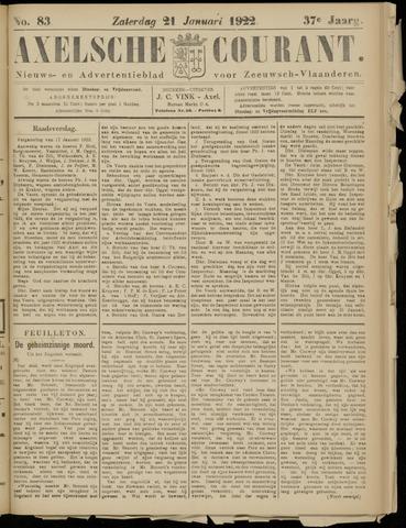 Axelsche Courant 1922-01-21