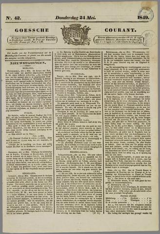 Goessche Courant 1849-05-24