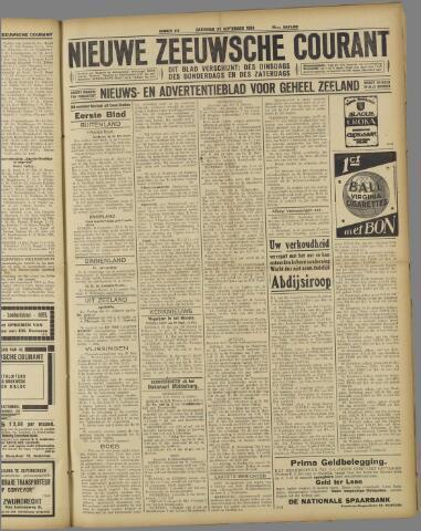 Nieuwe Zeeuwsche Courant 1924-09-27