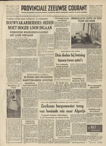 Provinciale Zeeuwse Courant 1960-03-01