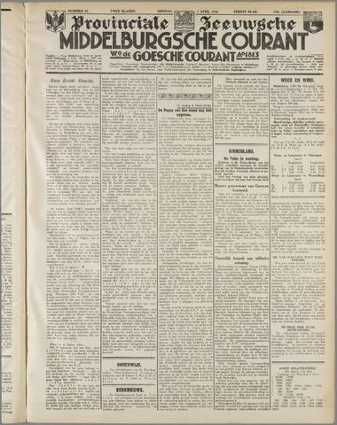 Middelburgsche Courant 1936-04-07