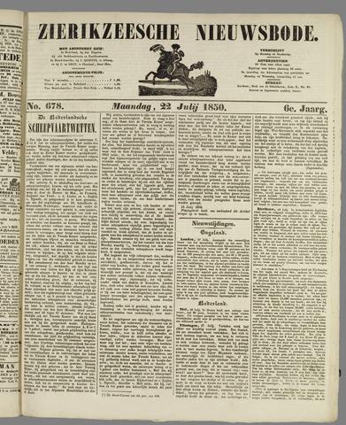 Zierikzeesche Nieuwsbode 1850-07-22