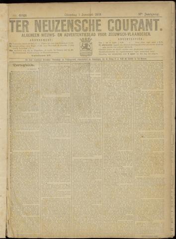 Ter Neuzensche Courant. Algemeen Nieuws- en Advertentieblad voor Zeeuwsch-Vlaanderen / Neuzensche Courant ... (idem) / (Algemeen) nieuws en advertentieblad voor Zeeuwsch-Vlaanderen 1918