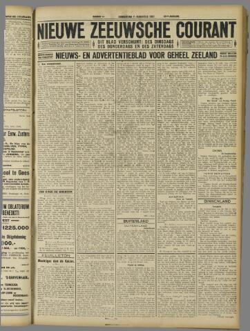 Nieuwe Zeeuwsche Courant 1927-08-11