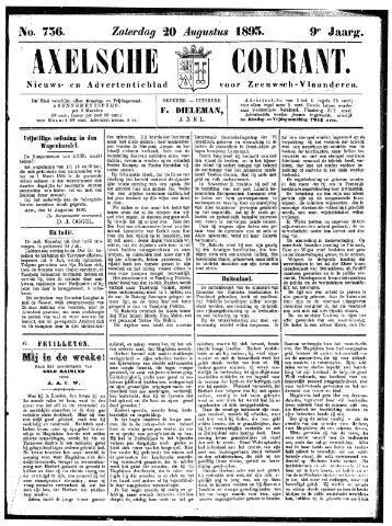 Axelsche Courant 1893-08-20