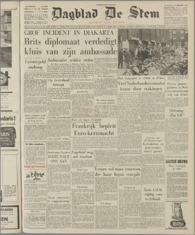 de Stem 1963-09-24