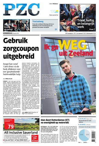 Provinciale Zeeuwse Courant 2015-04-30