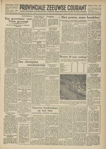 Provinciale Zeeuwse Courant 1947-09-26