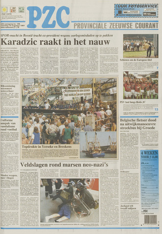 Provinciale Zeeuwse Courant 1997-08-18