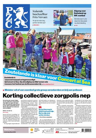 Provinciale Zeeuwse Courant 2018-06-28