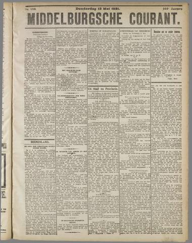 Middelburgsche Courant 1921-05-12