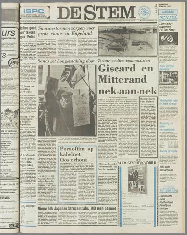 de Stem 1981-04-27