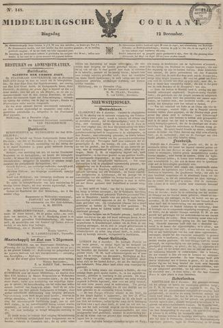 Middelburgsche Courant 1843-12-12