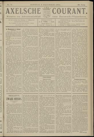 Axelsche Courant 1924-12-09