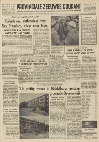 Provinciale Zeeuwse Courant 1959-09-23