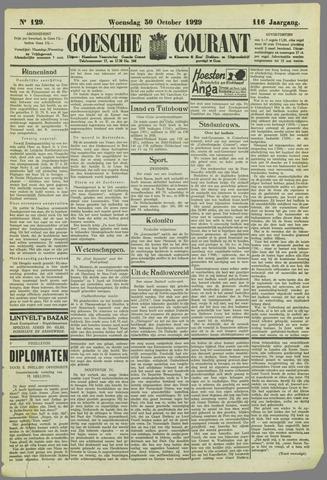 Goessche Courant 1929-10-30