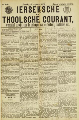 Ierseksche en Thoolsche Courant 1903-08-15