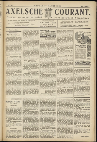 Axelsche Courant 1939-03-17