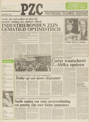 Provinciale Zeeuwse Courant 1978-04-04