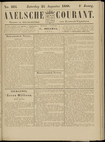 Axelsche Courant 1888-08-25