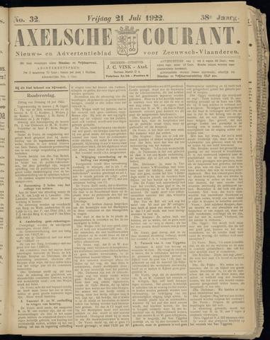 Axelsche Courant 1922-07-21