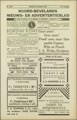 Noord-Bevelands Nieuws- en advertentieblad 1934-10-20