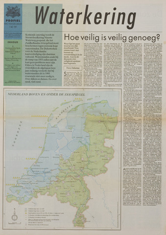 Watersnood documentatie 1953 - kranten 1997-05-07