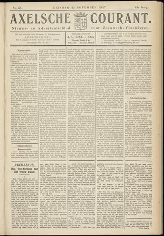 Axelsche Courant 1927-11-22