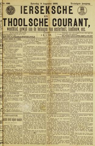 Ierseksche en Thoolsche Courant 1902-08-09