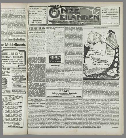Onze Eilanden 1927-07-23