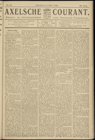 Axelsche Courant 1926-05-14