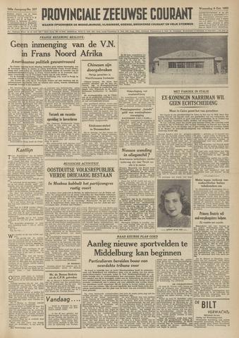 Provinciale Zeeuwse Courant 1952-10-08