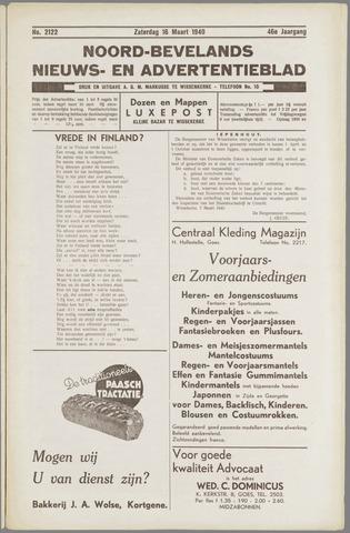 Noord-Bevelands Nieuws- en advertentieblad 1940-03-16